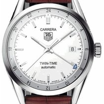TAG Heuer Carrera Calibre 7 Steel 39mm Silver