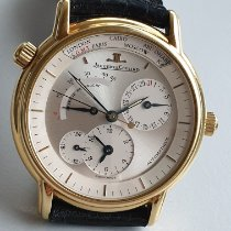 Jaeger-LeCoultre Master Geographic Gelbgold 38mm Silber Keine Ziffern