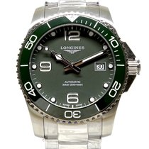 Longines HydroConquest Steel 41mm Green