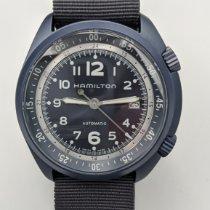 Hamilton Khaki Pilot Pioneer Aluminium 41mm Bleu Arabes