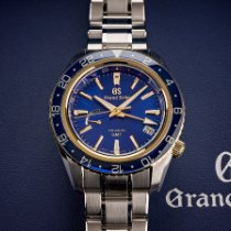 Seiko Grand Seiko Steel 44mm Blue No numerals United States of America, Texas, Austin