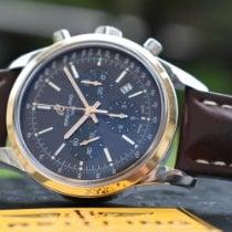 Breitling Transocean Chronograph Acero Negro