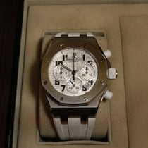 Audemars Piguet Royal Oak Offshore Lady Steel 37mm White Arabic numerals United States of America, New York, New York