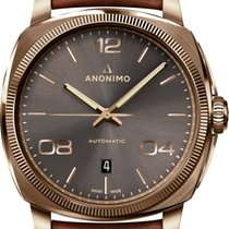 Anonimo new Automatic Skeletonized Display back 42mm Bronze Sapphire crystal