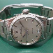 Rolex Steel 31mm Silver No numerals