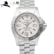 Breitling Avenger Seawolf Stahl 45mm Silber