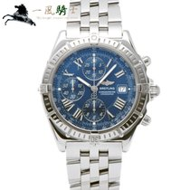 Breitling Crosswind Racing Acero 43mm Azul
