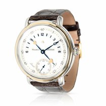 Maurice Lacroix Masterpiece Gold/Steel 43mm Silver Arabic numerals United States of America, New York, New York