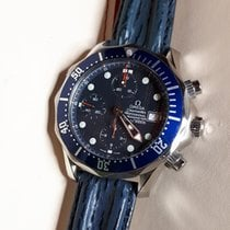 Omega Seamaster Diver 300 M Staal 41.5mm Blauw Geen cijfers Nederland, America (Limburg)
