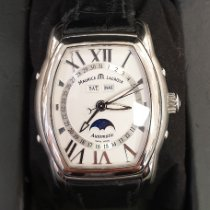 Maurice Lacroix Masterpiece Phases de Lune Steel White