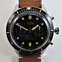Oris Divers Sixty Five Сталь 43mm Чёрный Без цифр
