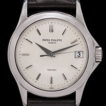 Patek Philippe Calatrava White gold 37mm Silver No numerals United States of America, New York, New York