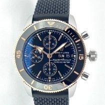 Breitling Superocean Héritage II Chronographe Gold/Stahl 44mm Schwarz Deutschland, Mainz
