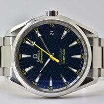 Omega Seamaster Aqua Terra Acier 41,5mm Bleu Sans chiffres