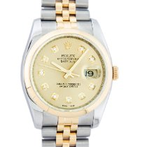 Rolex 116233 Gold/Steel 2006 Datejust 36mm pre-owned