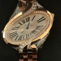 Cartier Délices de Cartier Rose gold 41MMmm Silver Roman numerals United States of America, New York, Woodmere