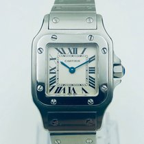 Cartier Santos Galbée Steel 24mm Silver Roman numerals United States of America, California, Mission Viejo