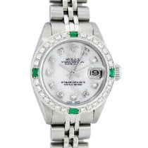 Rolex Oyster Perpetual Lady Date Steel 26mm Mother of pearl