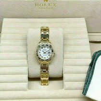 Rolex Lady-Datejust Pearlmaster Yellow gold 29mm White Roman numerals United States of America, California, Los Angeles
