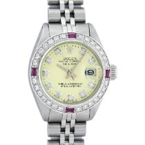 Rolex Oyster Perpetual Lady Date Steel 26mm Mother of pearl United States of America, California, Los Angeles