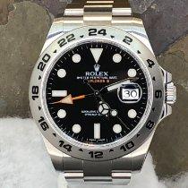 Rolex Explorer II Steel 42mm Black No numerals United States of America, New York, Troy