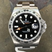 Rolex Explorer II Steel 42mm Black No numerals United States of America, New York, Troy