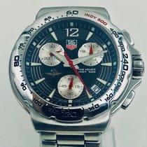 TAG Heuer Formula 1 Quartz pre-owned 42mm Black Chronograph Date Steel