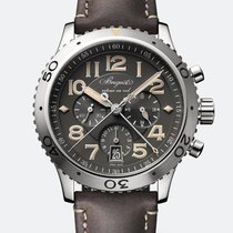 Breguet Type XX - XXI - XXII Steel 42mm Grey Arabic numerals United States of America, New York, New York