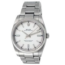 Rolex Oyster Perpetual 34 Steel 34mm White United States of America, California, Los Angeles