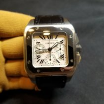 Cartier 2740 Steel 2012 Santos 100 41mm pre-owned United States of America, Florida, Orlando