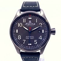 Alpina Startimer Pilot Automatic Very good Steel 44mm Automatic