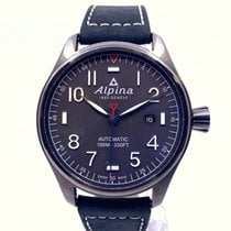 Alpina Startimer Pilot Automatic Сталь 44mm