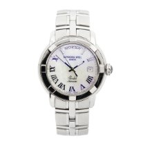Raymond Weil Parsifal Steel 39.5mm Mother of pearl Roman numerals
