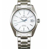 Seiko Grand Seiko Titanium 40mm White No numerals