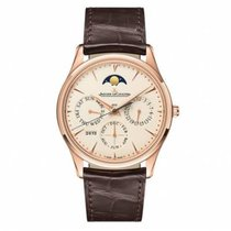 Jaeger-LeCoultre Master Ultra Thin Perpetual Oro rosa 39mm Blanco Sin cifras