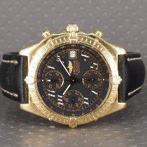 Breitling Chronomat Gult guld 40mm Sort Arabertal Danmark, Hellerup