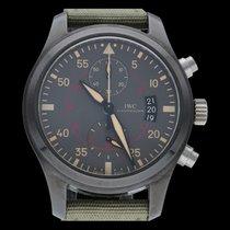 IWC Pilot Chronograph Top Gun Miramar IW388002 Meget god Keramik 46mm Automatisk