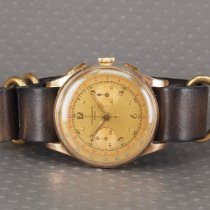 Chronographe Suisse Cie Yellow gold Manual winding chronographe suisse pre-owned