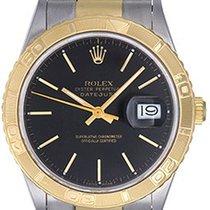 Rolex Datejust Turn-O-Graph 16263 Sehr gut Gold/Stahl 36mm Automatik