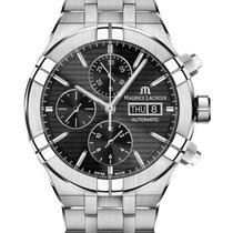 Maurice Lacroix Steel 44mm Automatic AI6038-SS002-330-1 new