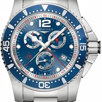 Longines HydroConquest L38434966 Neuve Tantale 47,50mm Quartz