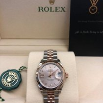 Rolex Lady-Datejust new 2021 Automatic Watch with original box and original papers 279171 G17.IX Sundust Dial