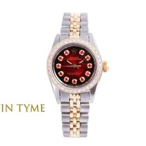 Rolex Oyster Perpetual Gold/Steel 24mm Red United States of America, California, Los Angeles