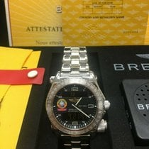 Breitling Emergency White gold 43mm Black United States of America, California, San Diego