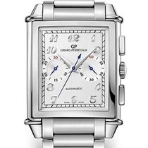 Girard Perregaux Vintage 1945 new 2021 Automatic Watch with original box and original papers 25883-11-121-11A