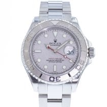 Rolex Yacht-Master 40 pre-owned 40mm Grey Date Steel