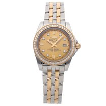 Breitling Galactic 32 Steel 32mm Gold No numerals