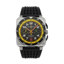 Bell & Ross BR 03-94 Chronographe Steel 42mm Black No numerals