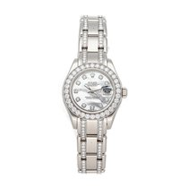 Rolex Lady-Datejust Pearlmaster White gold 29mm White No numerals United States of America, Pennsylvania, Bala Cynwyd