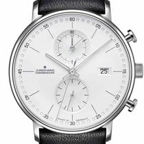 Junghans FORM C Stahl 40mm Weiß